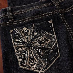 Girls skinny jeans size 14